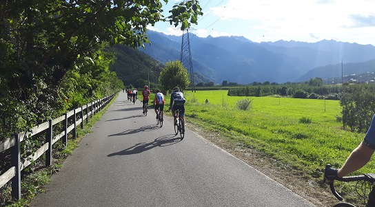 DAY 3: Sondrio ~ Bormio (70kms/700m or 116km/2100m) image 1