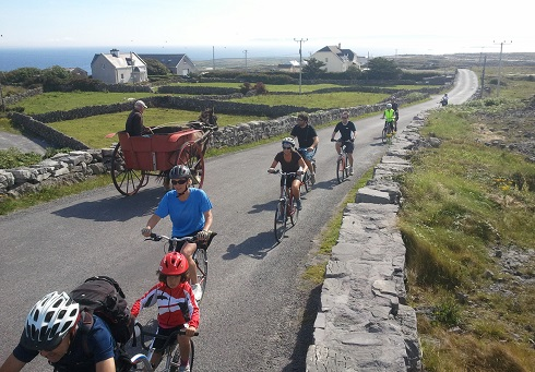 Aran Islands to Galway 22 miles / 35kms image 1