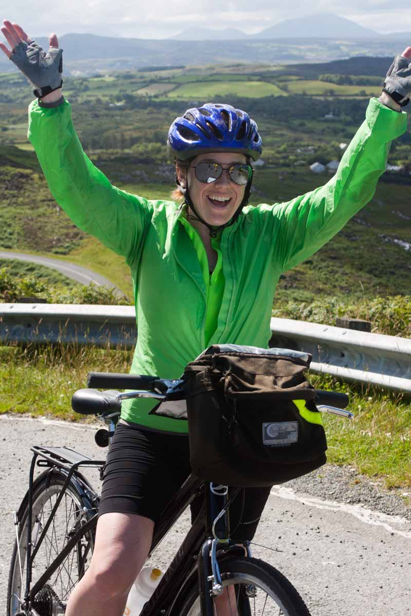 Sunday, July 21: Loop cycle to Arigna ( 46km/389m or 66km/567m ) image 1
